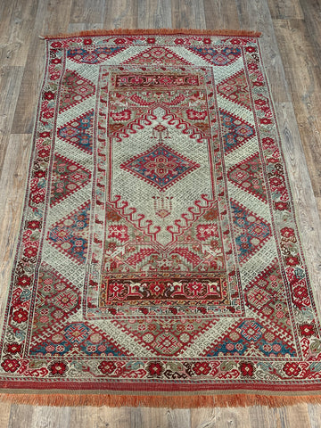 """Malik"" 12'3""2'11"" Vintage Turkish Runner"