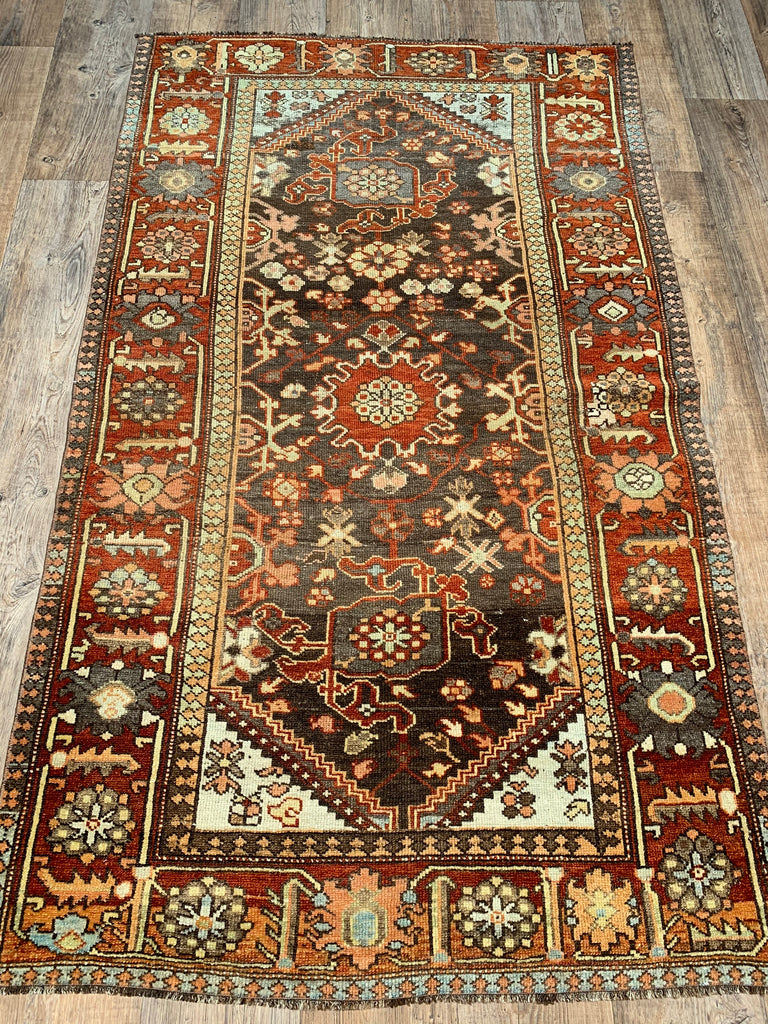 "6'2"" x 3'8"" Antique Kurdish"