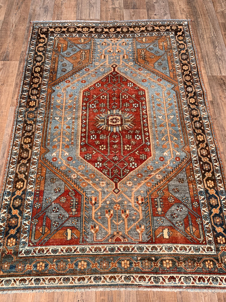 "6'5"" x 4'4"" Antique Persian Malayer"
