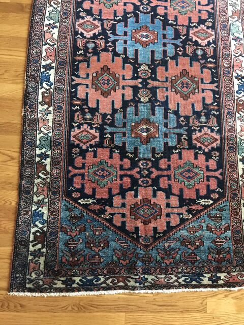 """Marcell"" 5'11""x3'5"" Antique Malayer from Hamadan"