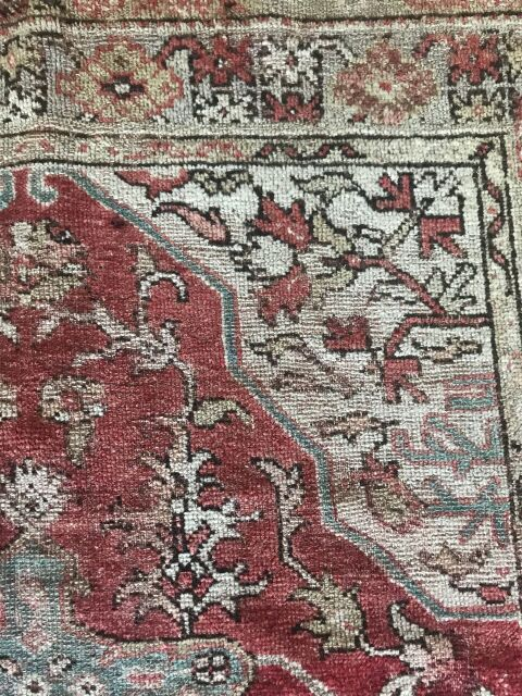 "6'10""x4'4"" Vintage Turkish Rug"
