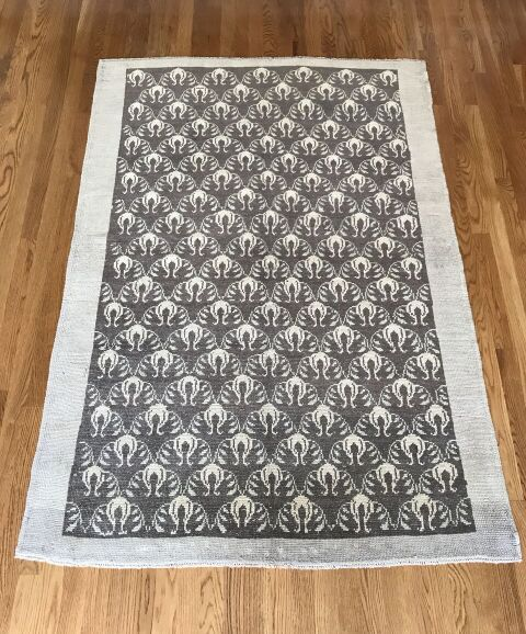 """Remy"" 6'1""x4'2"" Vintage Turkish Rug"
