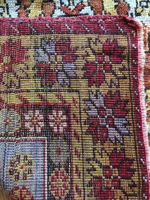 """Filipe"" 7'10""x4'4"" Vintage Turkish Rug"