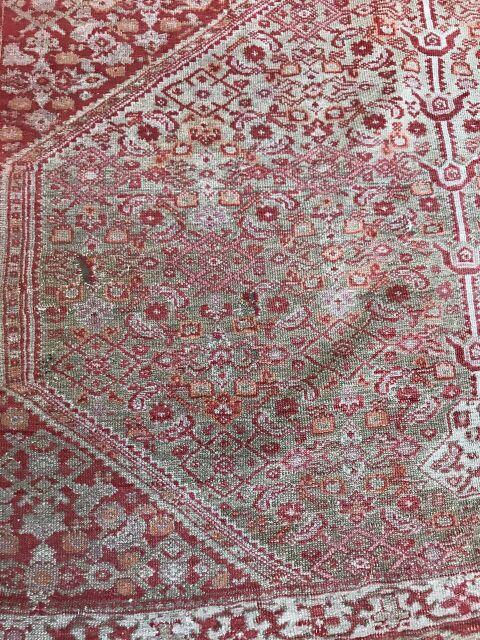 "3'11""x6'1"" Antique Mishan Malayer"