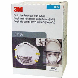 3M Particulate Respirator 8110 Small