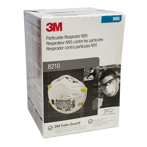 Image of 3M-Particulate Respirator 8210, N95