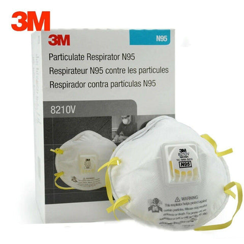 Image of 3M-Particulate Respirator 8210V, N95