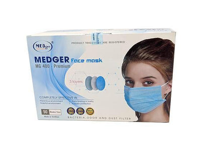 Medger Face Mask Box