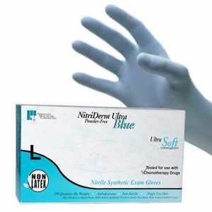 NitriDerm Ultra Synthetic Exam Gloves - Lg