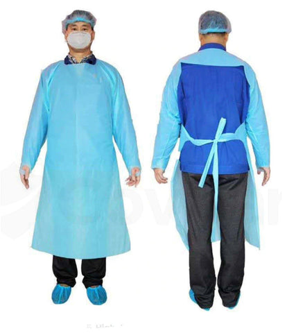 Image of CPE Disposable Isolation Gown