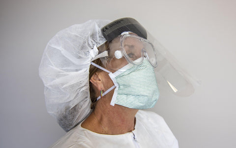 Image of PPE Goggles and Face Shield