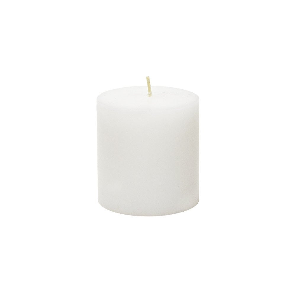 Unscented White 3x3 Pillar Candle