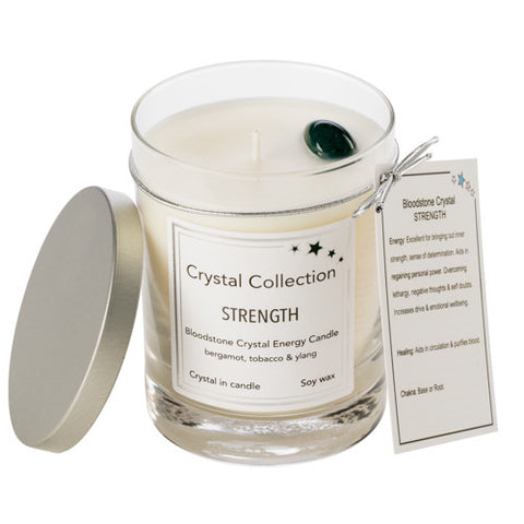Bloodstone Crystal - Strength - Bergamot Tobacco Ylang
