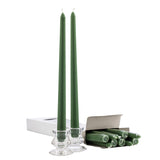 Green 12 Inch Taper Candles