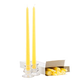 Yellow 12 Inch Taper Candles
