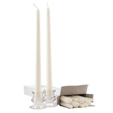 White 12 Inch Taper Candles