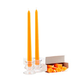 Orange 12 Inch Taper Candles
