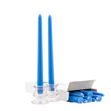 Blue Ten Inch Taper Candles