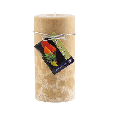 3x6 Natural Wax Pillar Candle