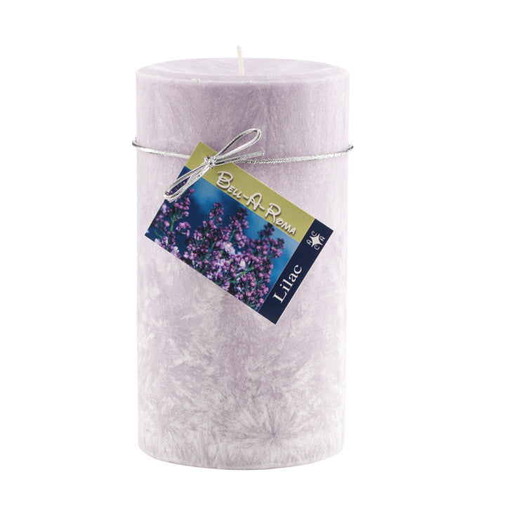 Scented Natural Wax Pillar Candle 3.5 x 6