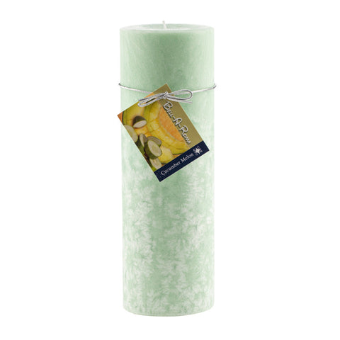 3x9 Natural Wax Pillar Candle