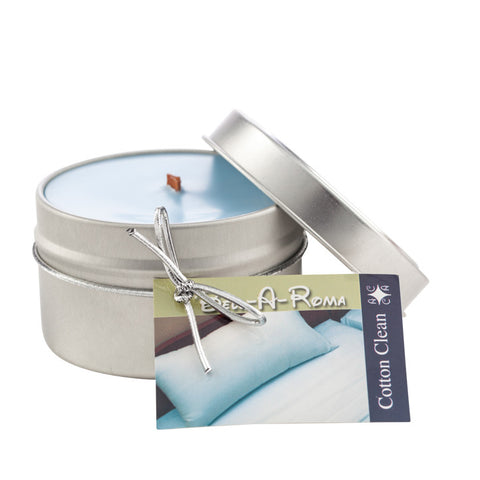 6 ounce Scented Soy Travel Candle in Tin