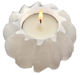 Selenite Tealight Candle Holder