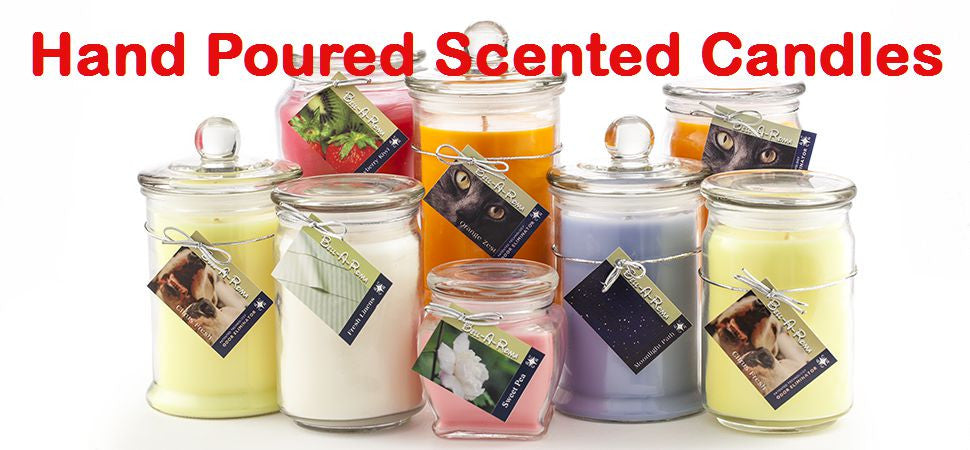 Hand Poured Scented Soy Candles