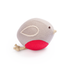 Organic Cotton Robin Rattle