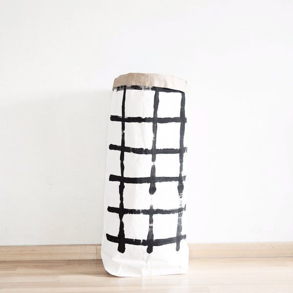 Grid Paper Bag - Medium