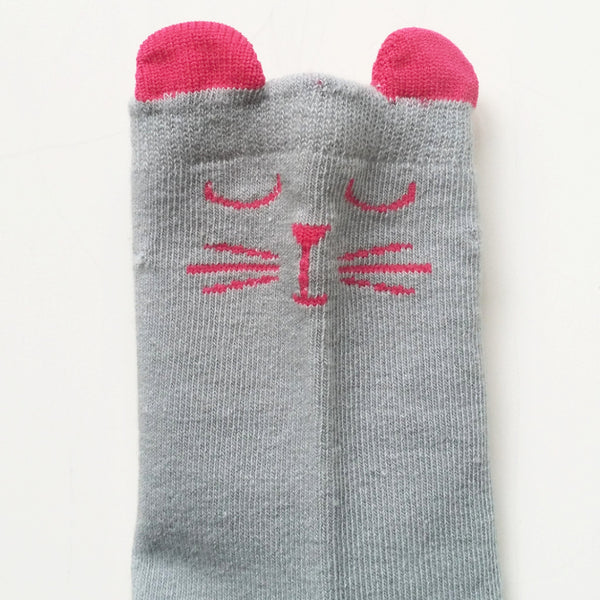 Sleepy Cat Socks