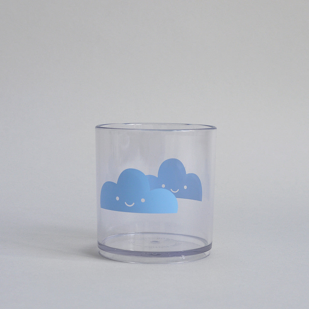 HAPPY CLOUDS – TUMBLER (BLUE)