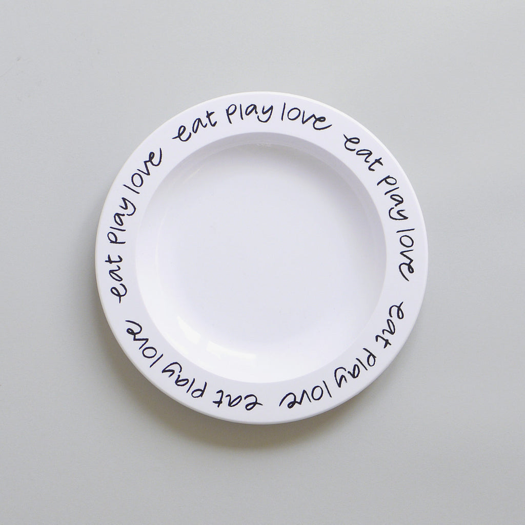 EAT PLAY LOVE – MELAMINE PLATE
