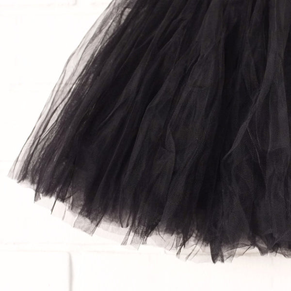 Tulle tutu Skirt (Black)