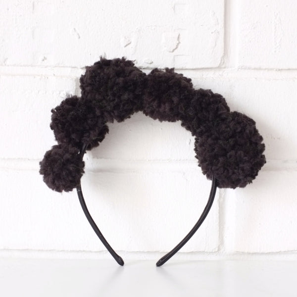 Crown POMPOM HeadBAND