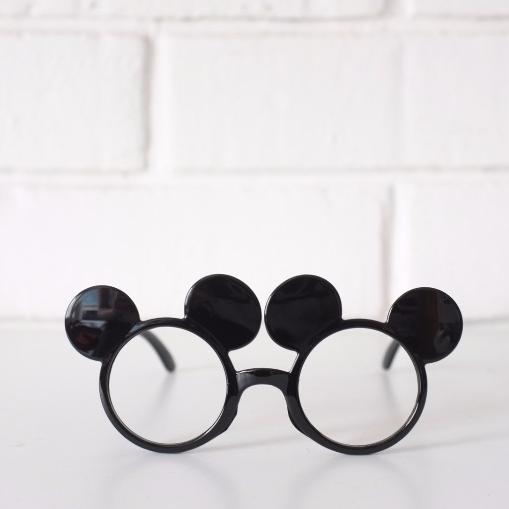 Mickey EAr BLACK Glasses