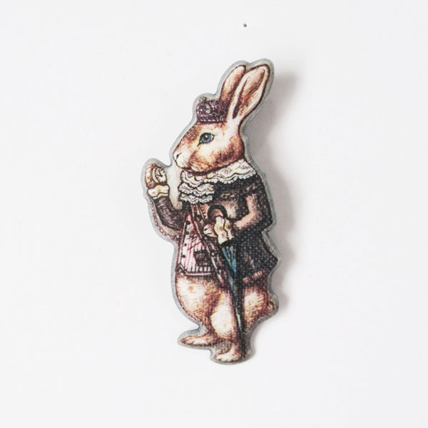 ALICE BUNNY Brooch