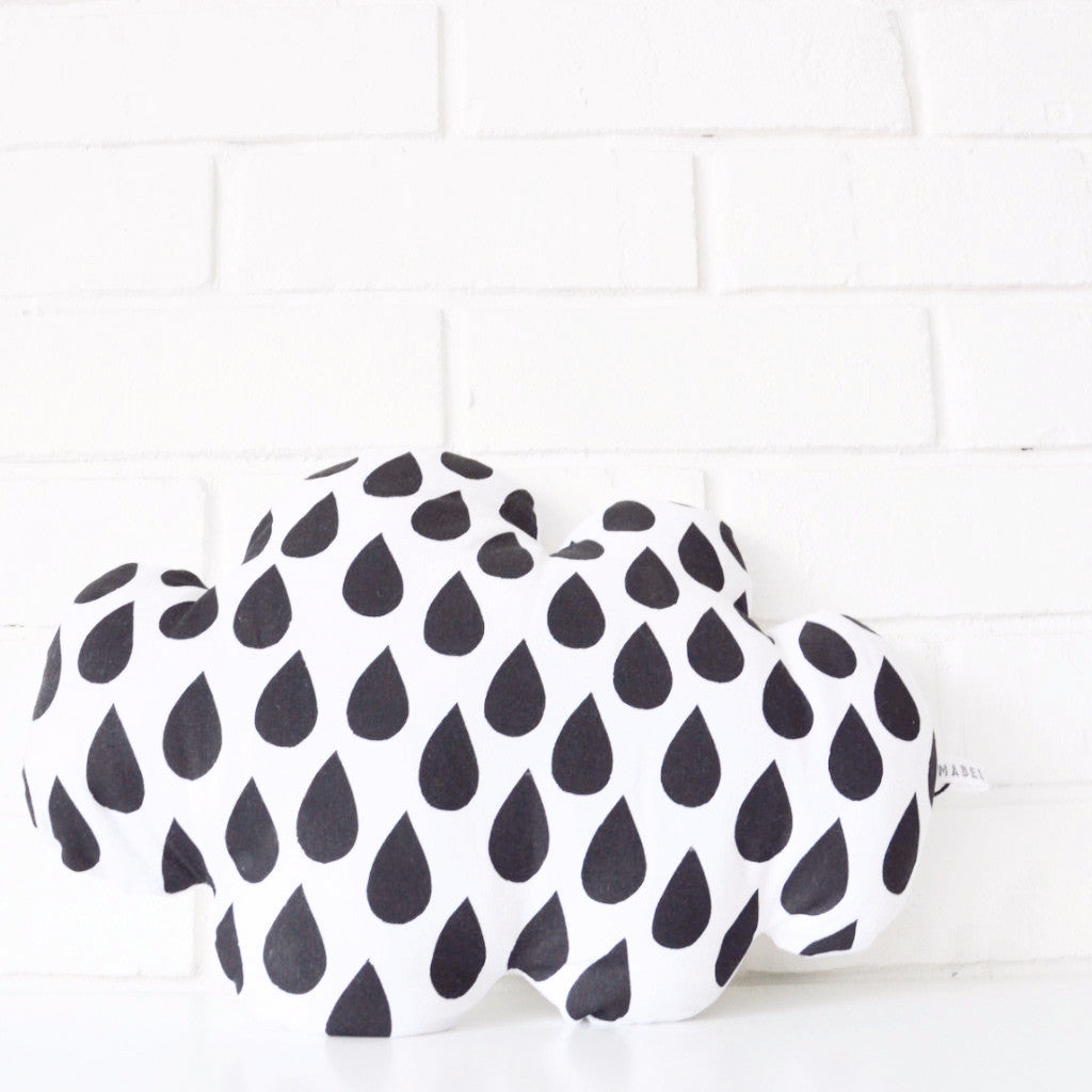 BIG RAINDROP CLOUD CUSHION