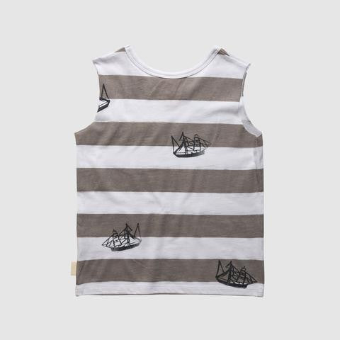 SHIPPED POCKET MUSCLE TEE