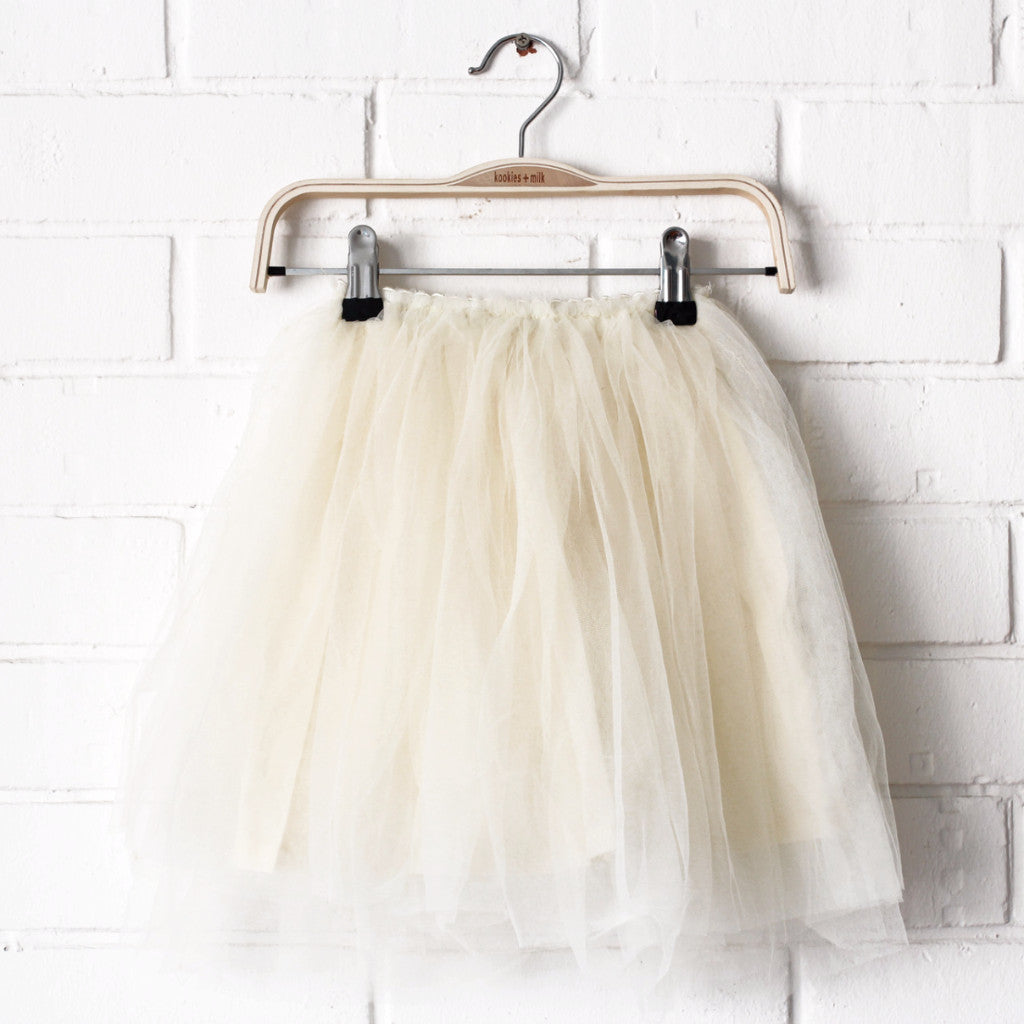 Tulle tutu Skirt (OFF-WHITE)