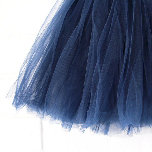 Tulle tutu Skirt (NAVY)
