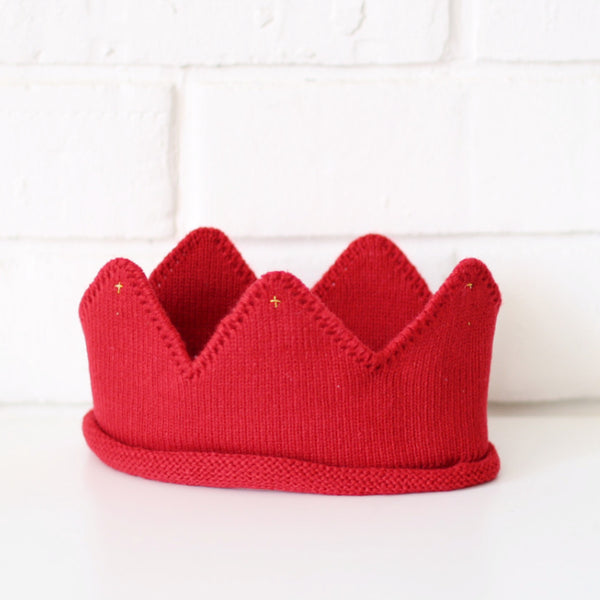 Knit Crown Headpiece