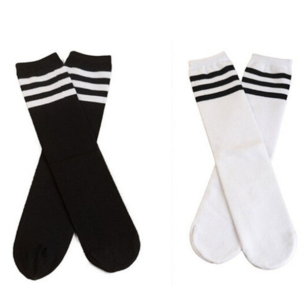 3 Stripes Sports Socks (Red)