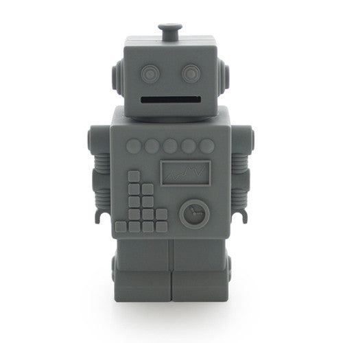 MR ROBERT SILICONE MONEY BOX GREY