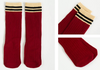Preppy Stripes socks (Maroon)