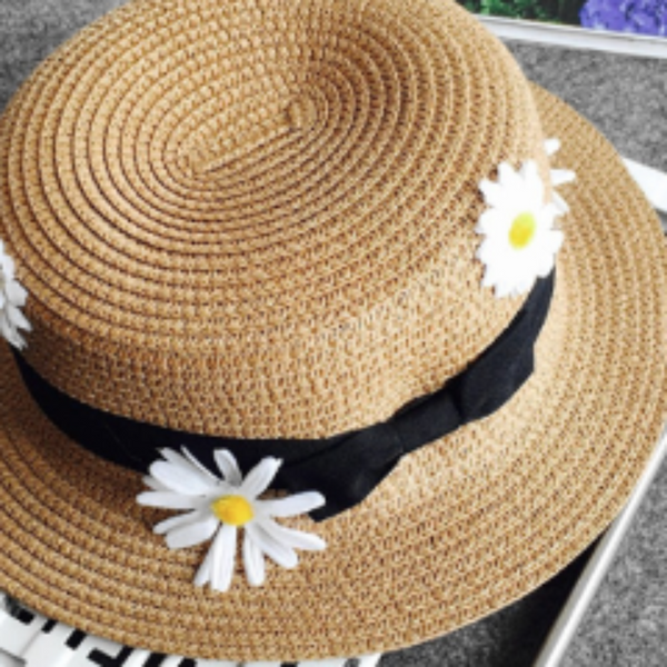 Sunflower boat Hat