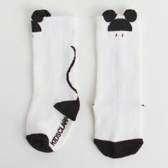 Mice Knee Socks (White)