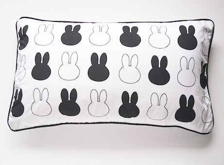 Bunny Head Pillow Cover