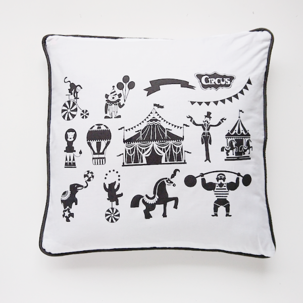 Circus Cushion Cover