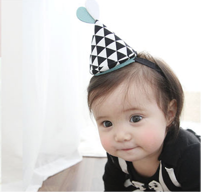 birthday CONE HEADBAND